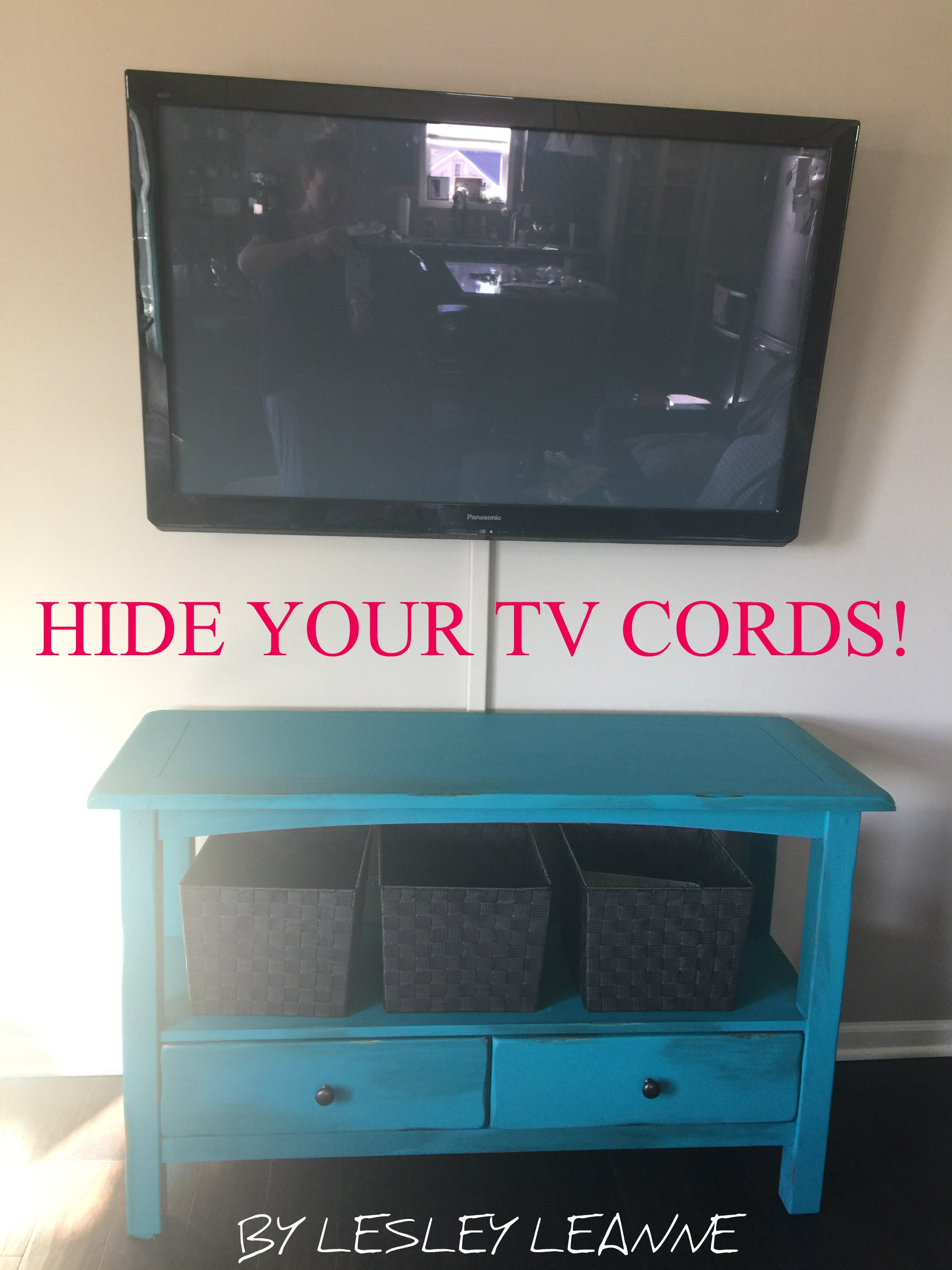 Hide Your Tv Cords The Solution To Hiding Those Ugly